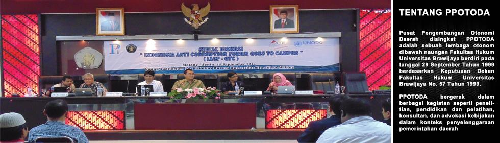 Stranas PPK dan Upaya Pencegahan Korupsi di Daerah