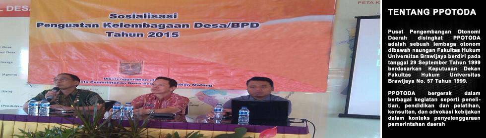 Serial Diskusi Desa, Penguatan Kelembagaan Desa –BPD