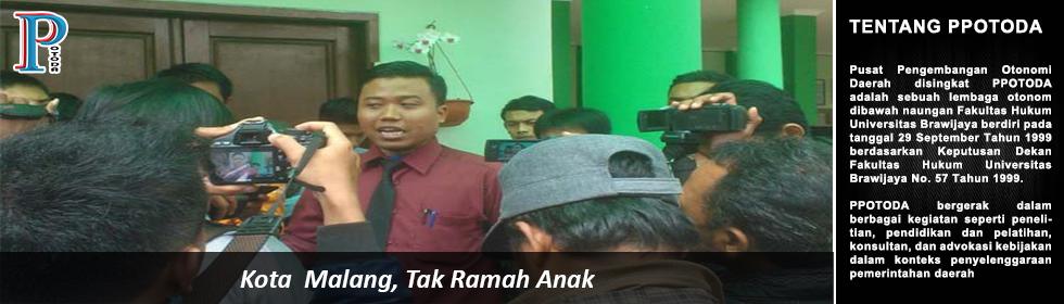 Kota  Malang, Tak Ramah Anak