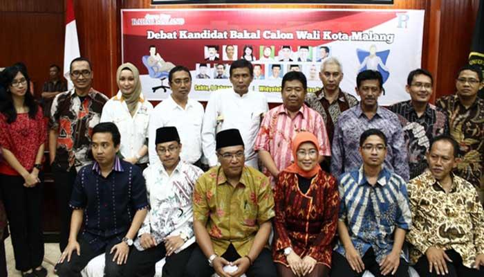 Debat Bakal Calon Walikota Malang