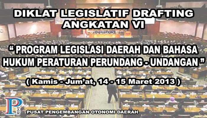 Diklat Legislative